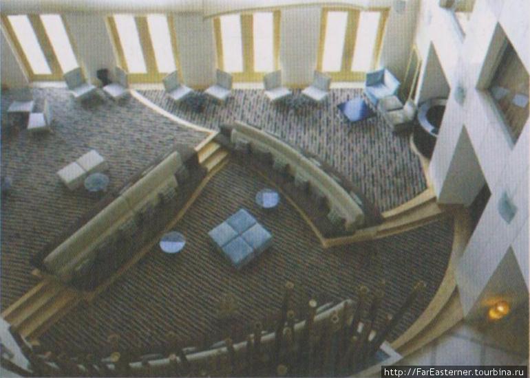 Лобби в отеле Парк (фото из буклета)