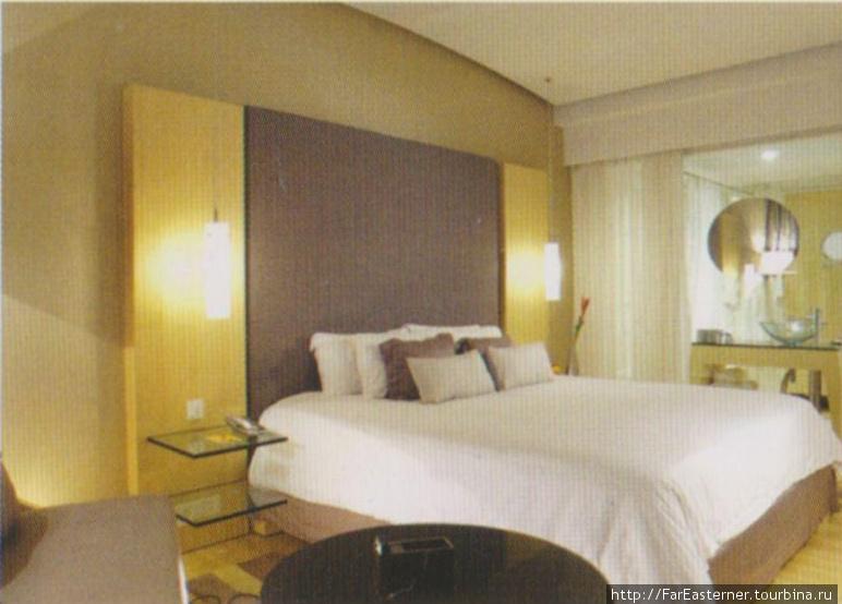 Номер в отеле Парк (фото из буклета)