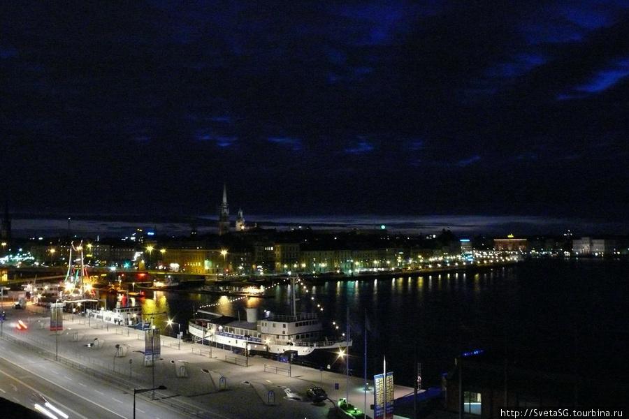 Ночной Стокгольм