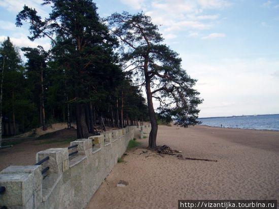 Калайоки. Песчаные пляжи и дюны у Ботнического залива.