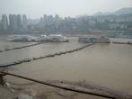 У реки Янцзы на порту