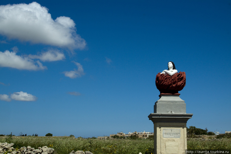 Душа, объятая пламенем Чистилища (Сидживви, Мальта)