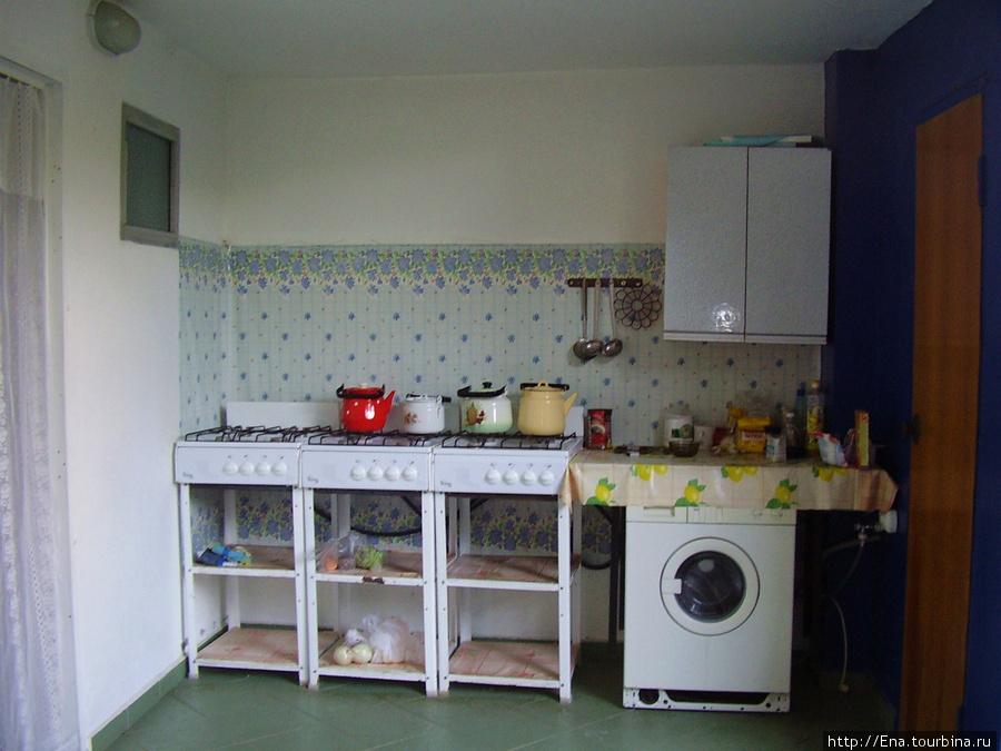 Мини-гостиница на ул. Октябрьской, 10. Общая кухня