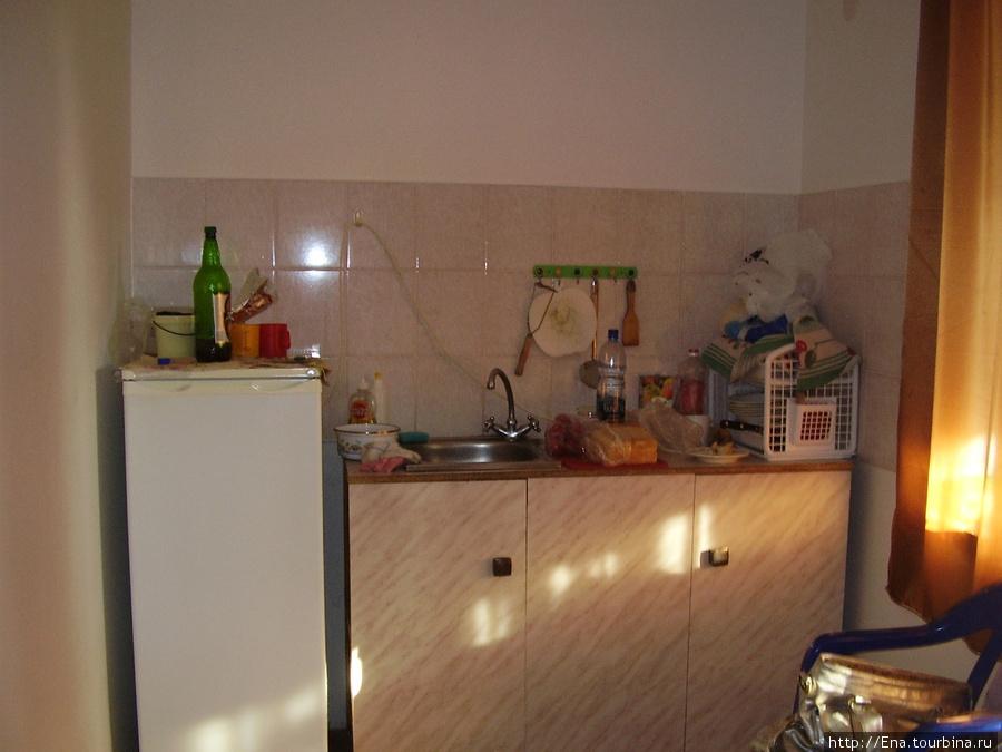 Мини-гостиница на ул. Октябрьской, 10. Кухня в номере-блоке
