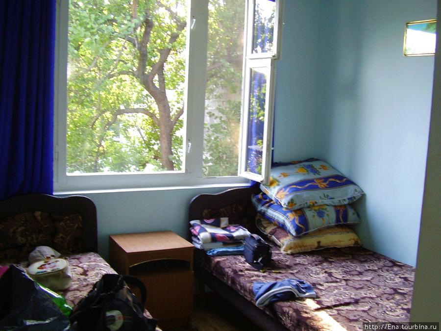 Мини-гостиница на ул. Октябрьской, 10. Из нашего номера было так жалко уезжать!