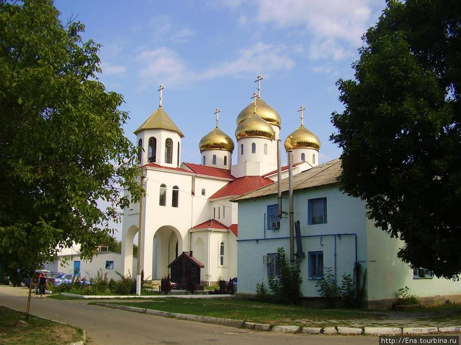 Георгиевская церковь в Витязево
