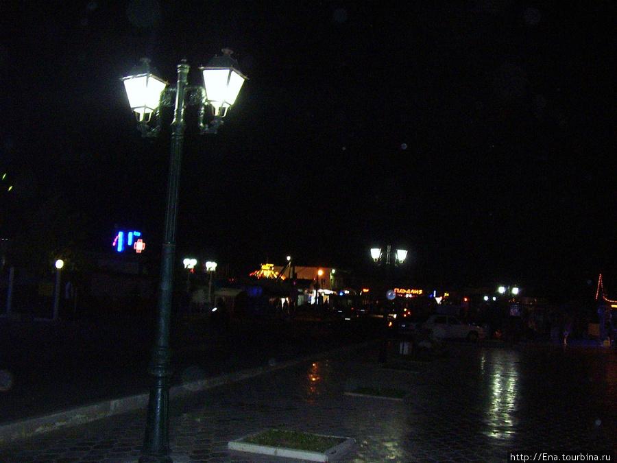 Ночной поселок Витязево