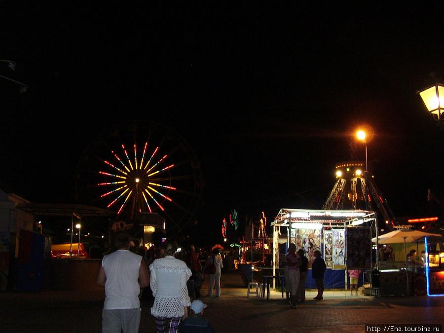 Южный вечер на Паралии