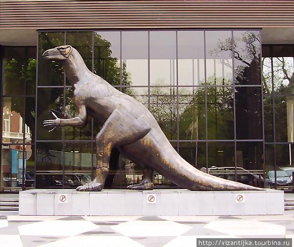 Королевский бельгийский институт естественных наук. Брюссель. Макет динозавра.