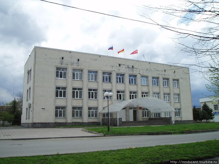 Здание администрации — стандарт Алагир, Россия