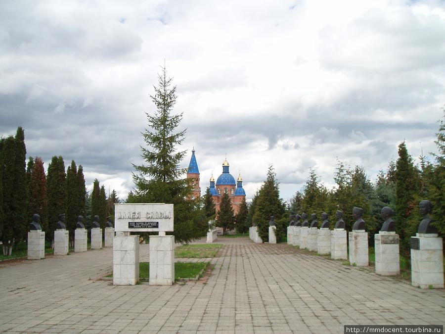 Аллея славы — всего 28 человек Дигора, Россия
