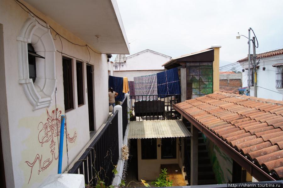 Второй этаж отеля Дионисио