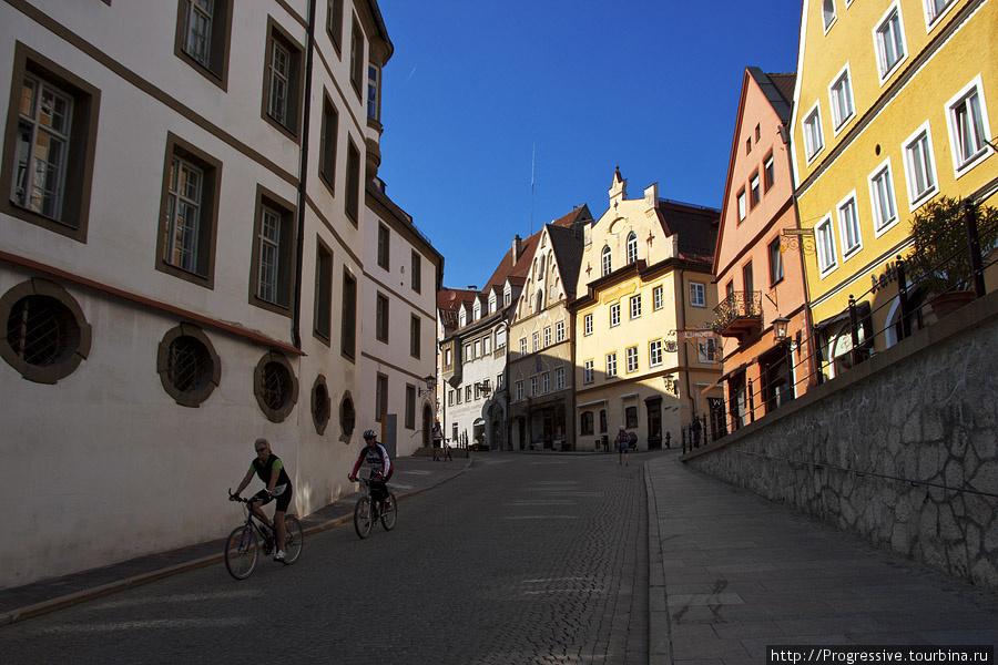 Фюссен — красивый и уютный городок
