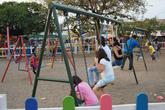 Детская площадка на площади