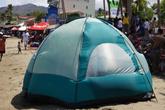 Палатка на пляже
