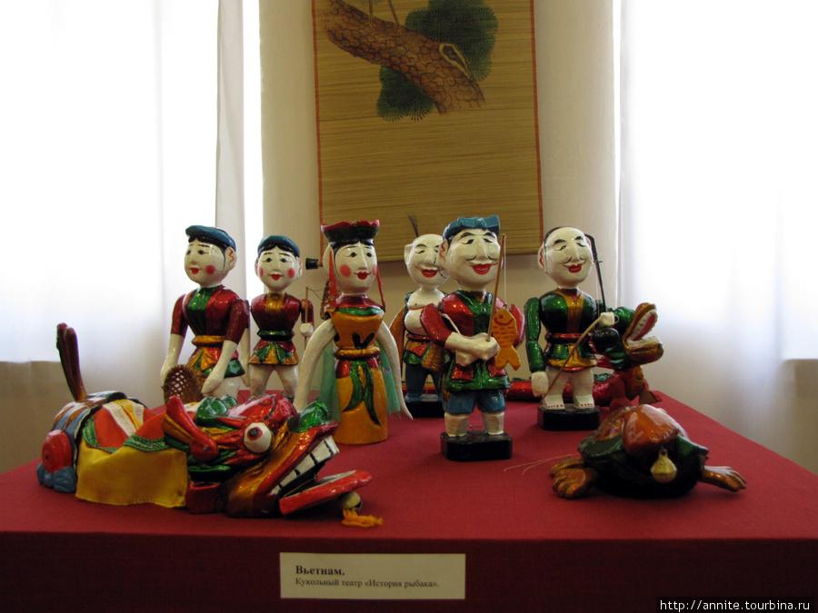 Вьетнам. Кукольный театр