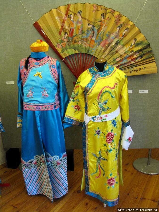 Китайские народные костюмы.