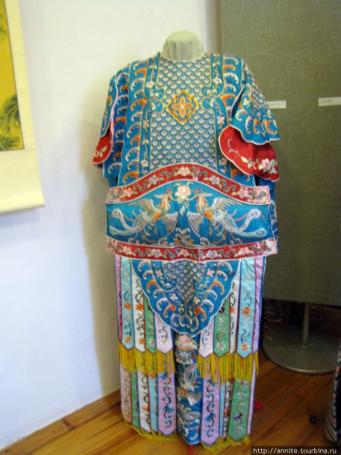 Китайский народный костюм.