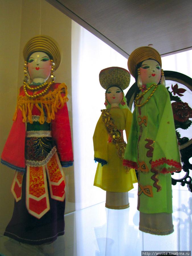Вьетнам. Куклы в национальных костюмах.