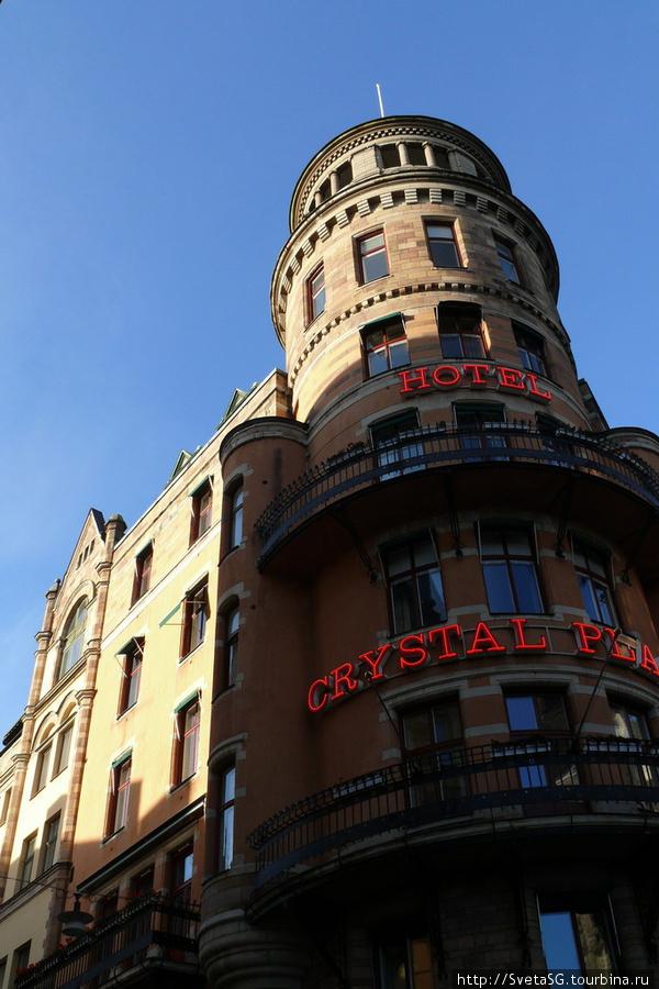 Наш отель Кристал Плаза.