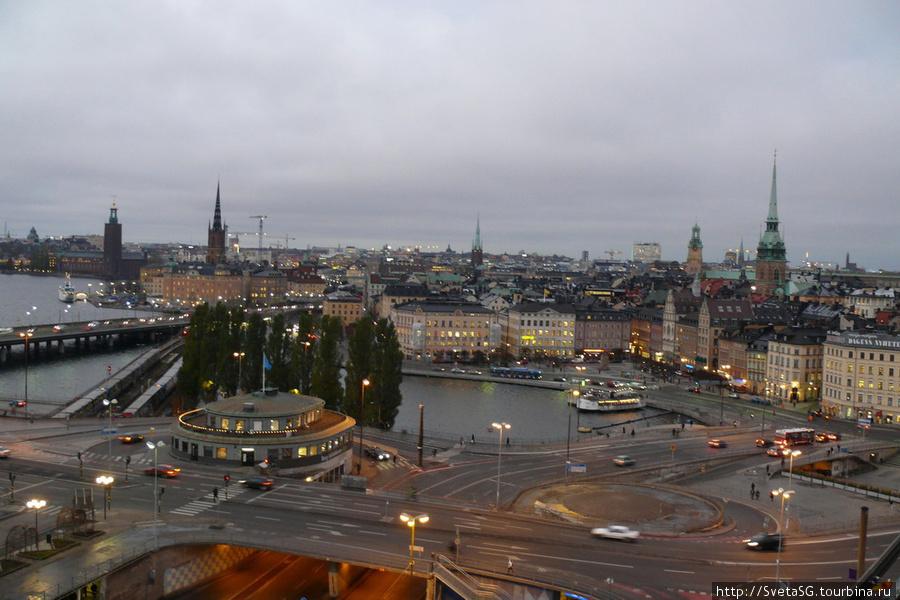 Вид на город со смотровой площадки