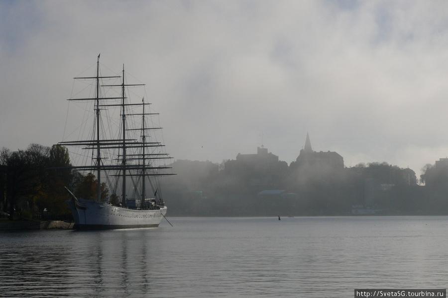 Яхта в тумане