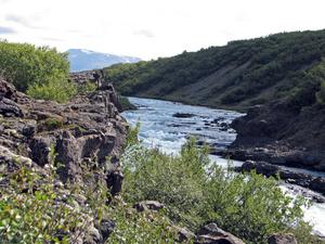 Верховье, где река еще вполне безобидная