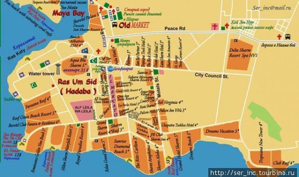 Карта раойна Рас Ум Сид