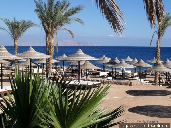 Пляж Палм Бич — бесплатный пляж отеля