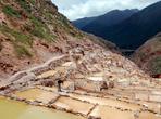 Соляная шахта  — Salineras, из которой перуанцы  веками извлекают соль