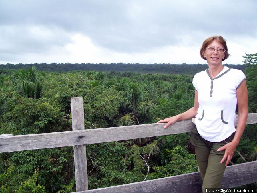 Над джунглями перуанской