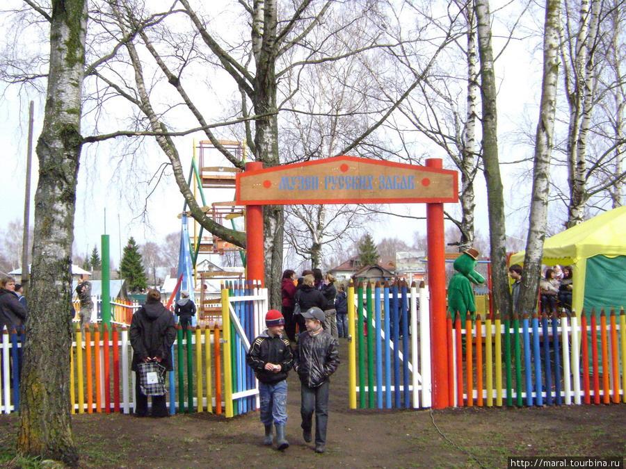 На Красную Горку на бывшей торговой площади открылся Музей русских забав