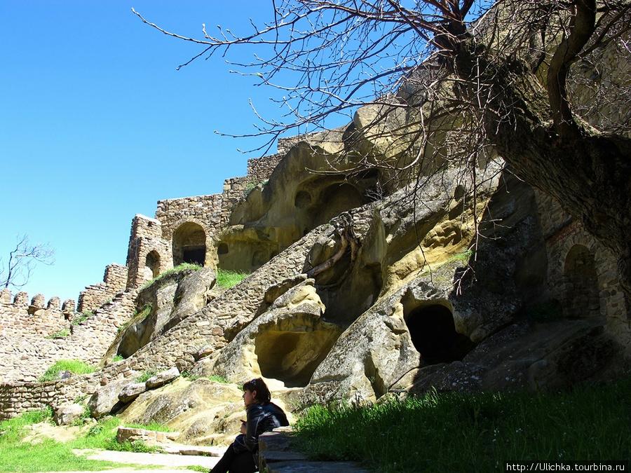 Ulichka*Давид Гaреджи,пещерный обитаемый монастырь.*Кахетия, Грузия