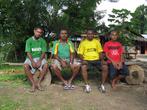 папуасы, жители Вутунга