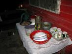 Вроде бы вутунгский папуасский народ не голодает: еда на столе имеется