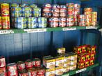 В магазине, как всегда — рис, растворимая лапша, консервы и другие папуасские изделия