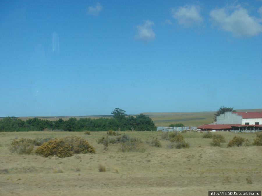 на полуострове имеется несколько ферм, можно переночевать и пообедать