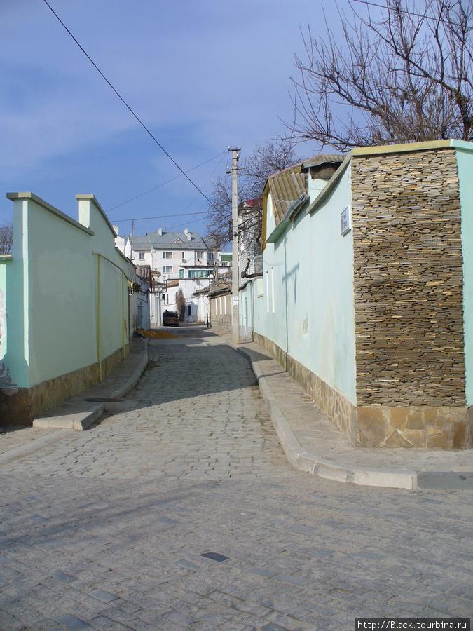 Караимский квартал. Улицы