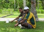 Современные обитатели этой местности — папуасы. Для них нет большой разницы, союзники или их противники победили бы в войне