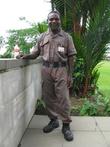 Охранник Военного мемориала