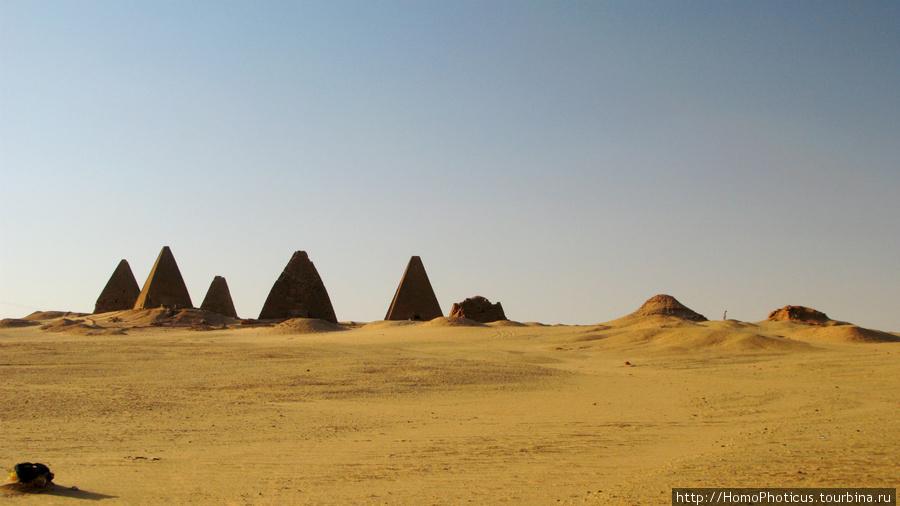 Пирамиды, Напата