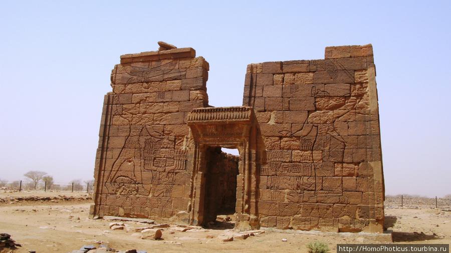 Мероэ, Нага, храм Апедема