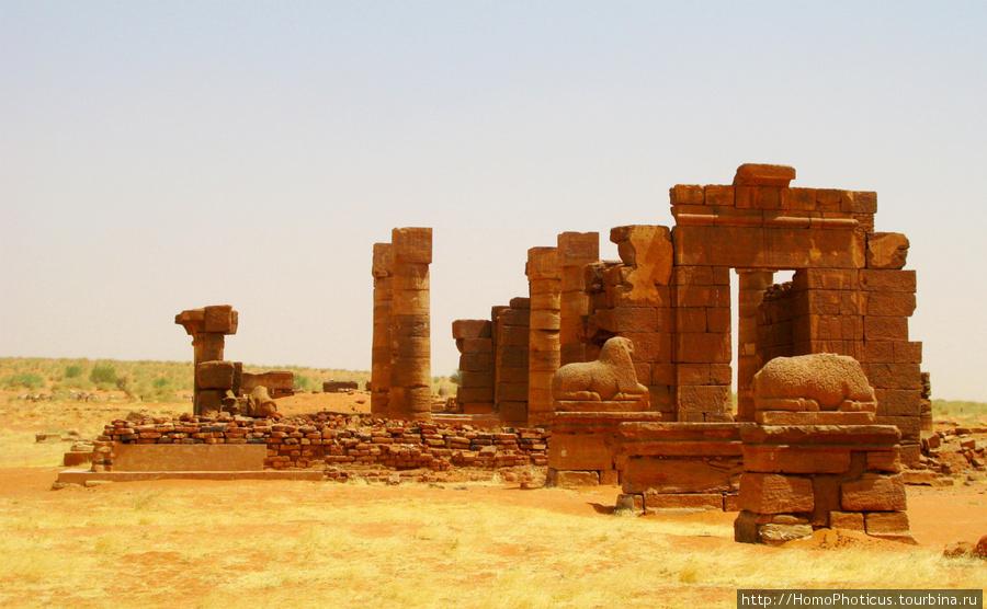 Мероэ, Нага, храм Амона