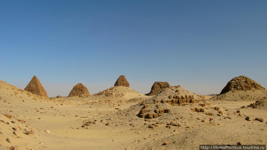 Напата, пирамиды Нури