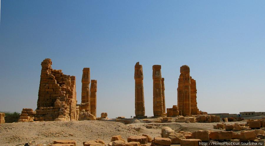 Солеб, храм Амона