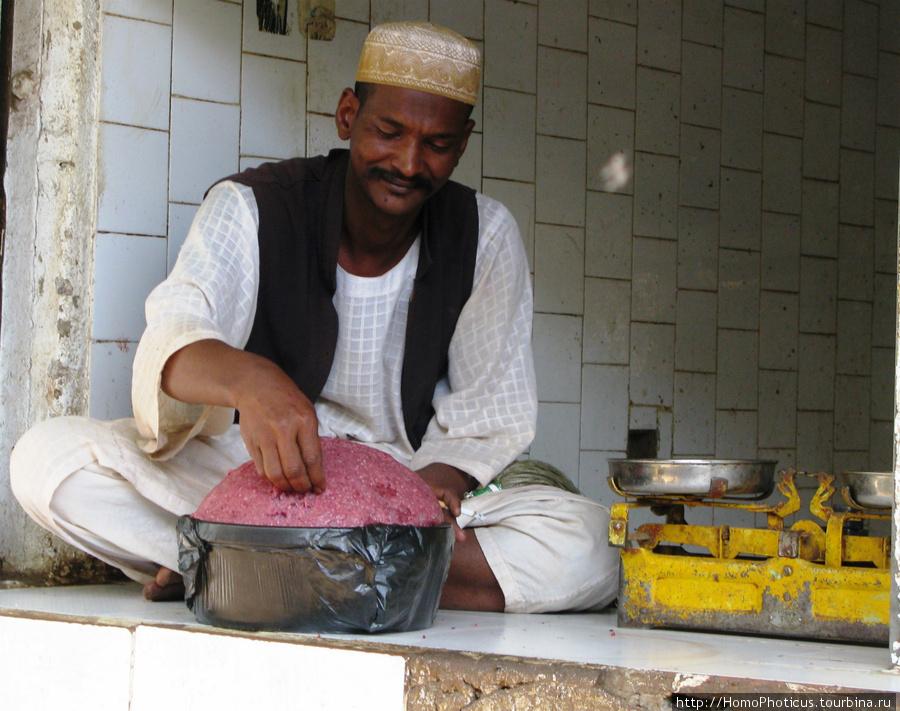 Омдурман, торговец