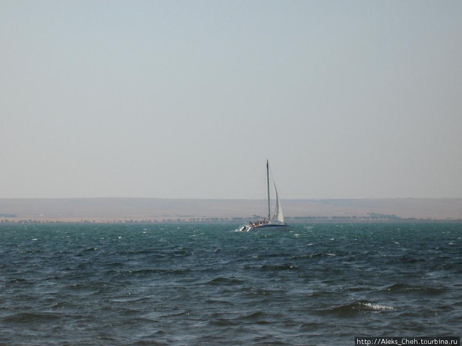 Вид моря на северо-западе Крыма.