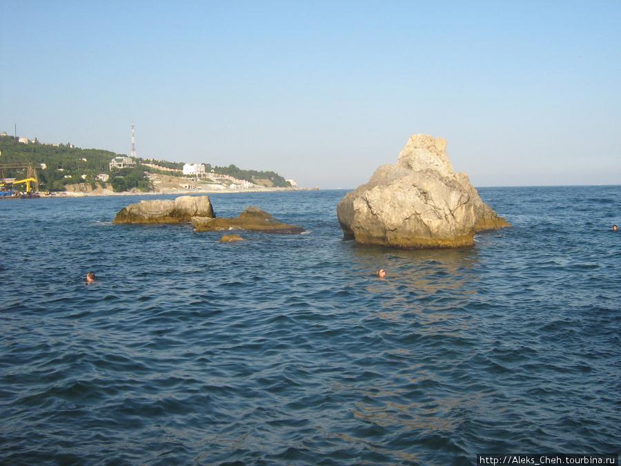 В Симеизе тоже море всем нравится.