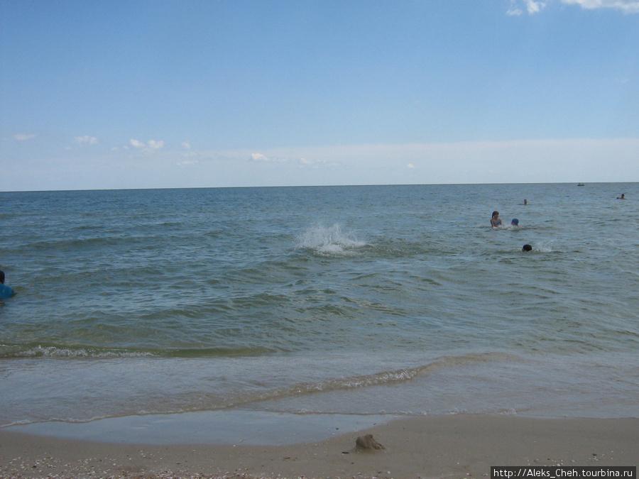 Азовское море. Кириловка.