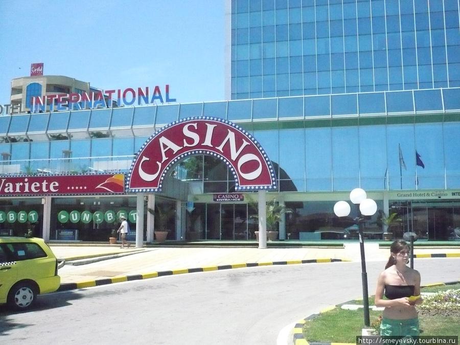 центральных вход в отель